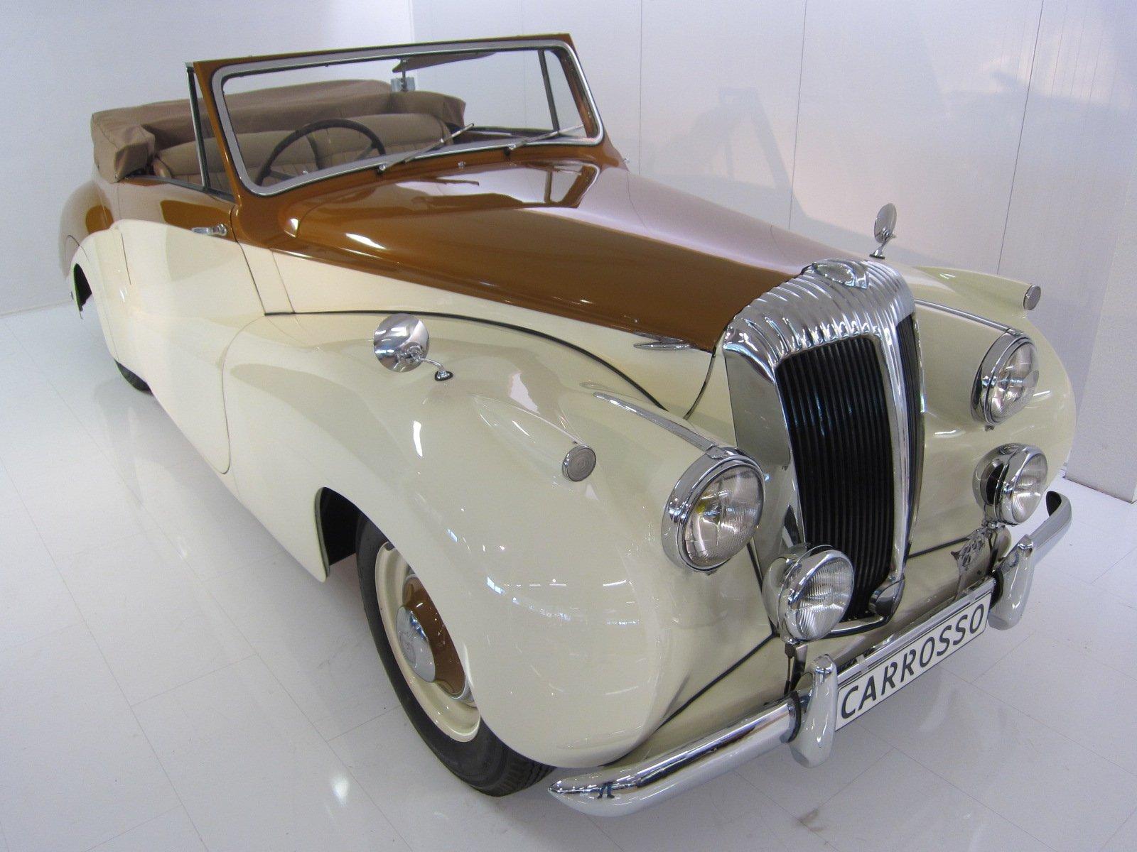 1951年ダイムラーDB18スペシャルスポーツバーカー