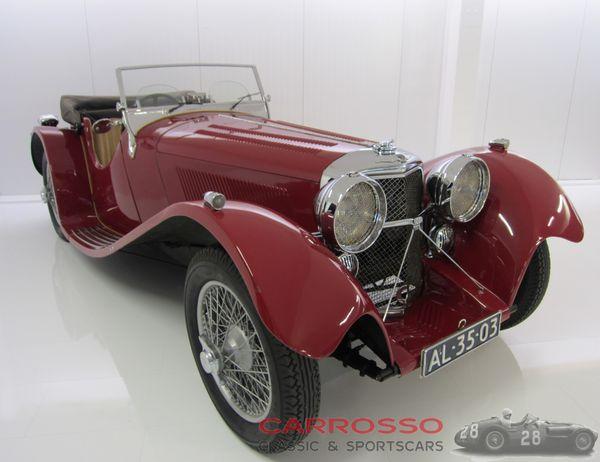 1936年ジャガーSS100 3.5